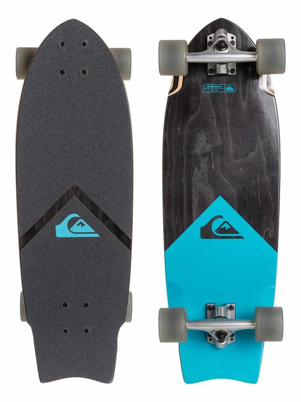 0 Black Traction - Skateboard  EGLQSLSNWV Quiksilver
