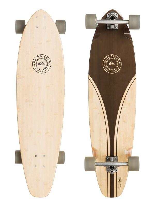 0 Volcano Bamboo - Skateboard Marron EGLQSLSVLN Quiksilver