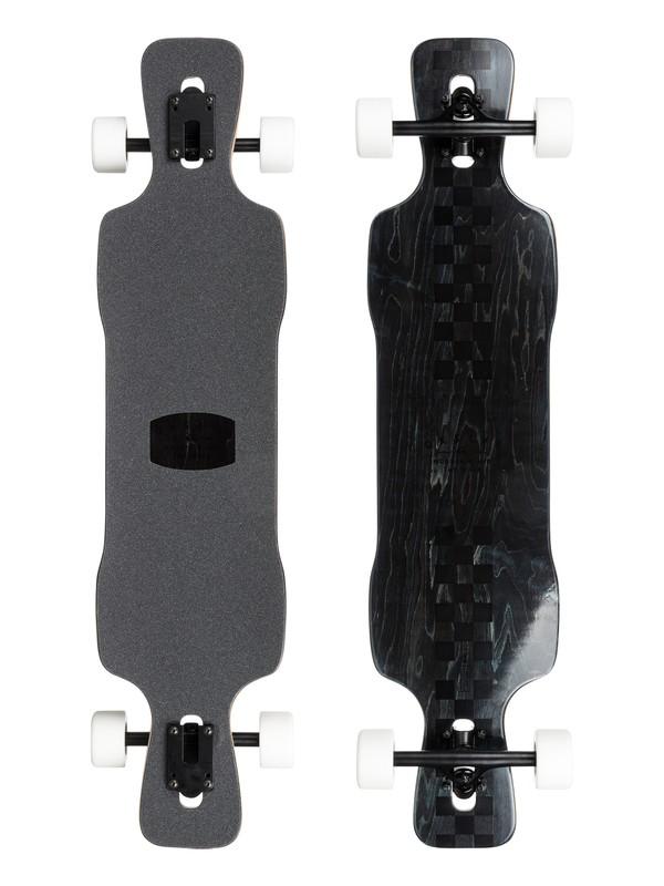 0 Racing Drift - Downhill Freestyle Longboard Noir EGLRACINGD Quiksilver