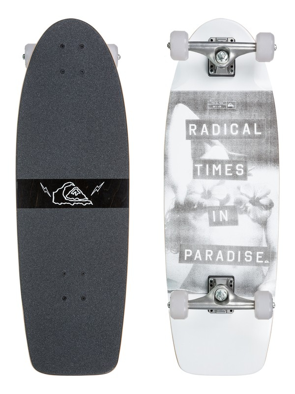 0 All Time Skateboard Grey EGLSALTUS Quiksilver