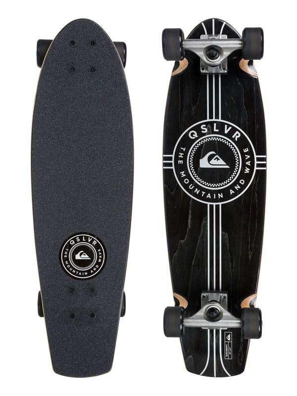 0 Black Beauty Skateboard Black EGLSBLKUS Quiksilver