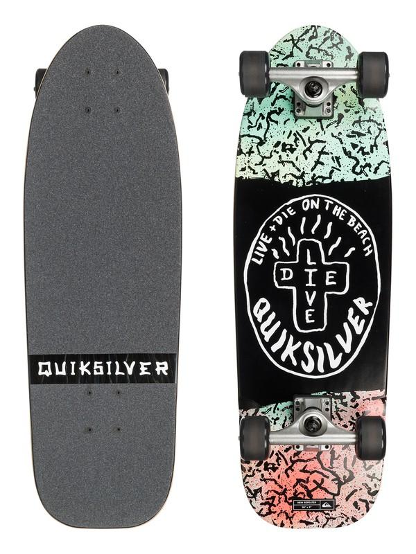 0 New Repeater - Skateboard Noir EGLSNWREP Quiksilver