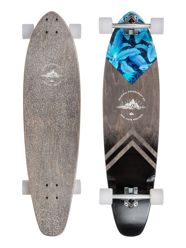 0 Paramount Skateboard Grey EGLSPRMUS Quiksilver