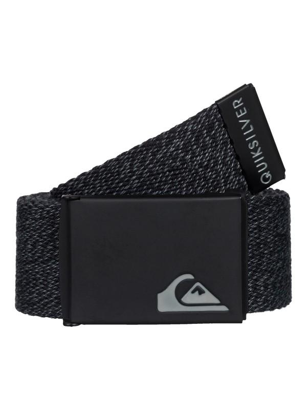 0 The Jam - Reversible Webbing Belt Black EQBAA03030 Quiksilver