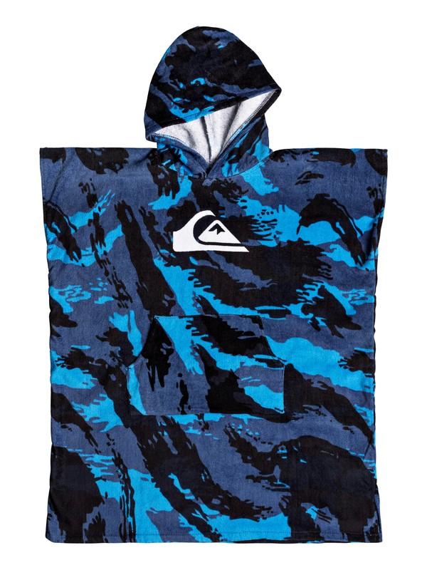 0 Quiksilver - Asciugamano con Cappuccio Blue EQBAA03051 Quiksilver
