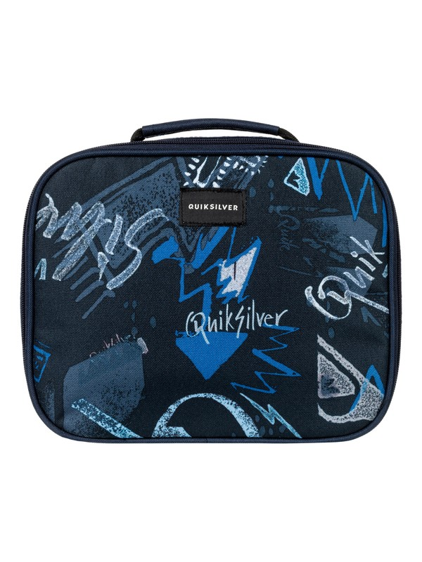 0 Boy's 8-16 Lunch Lady Land Cooler Lunch Bag Blue EQBBA03000 Quiksilver