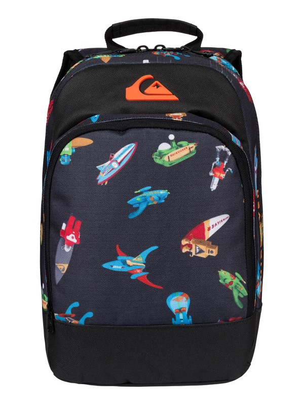 0 Boy's 8-16 Chompine Medium Backpack  EQBBP03028 Quiksilver