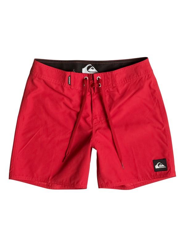 "0 Everyday Short 14"" - Boardshort Rouge EQBBS03060 Quiksilver"