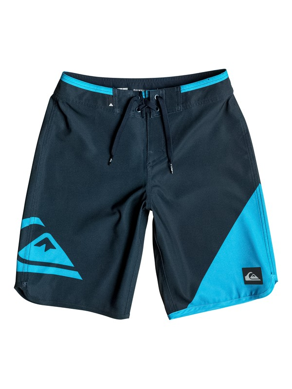 """0 Boy's 8-16 New Wave Everyday 18"""" Boardshorts  EQBBS03086 Quiksilver"""