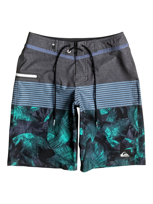 "0 Boy's 8-16 Division Vee 18"" Boardshorts  EQBBS03123 Quiksilver"