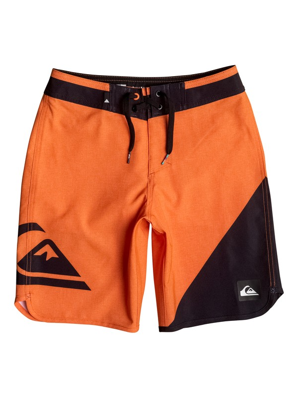 "0 New Wave 17"" - Boardshort Orange EQBBS03125 Quiksilver"