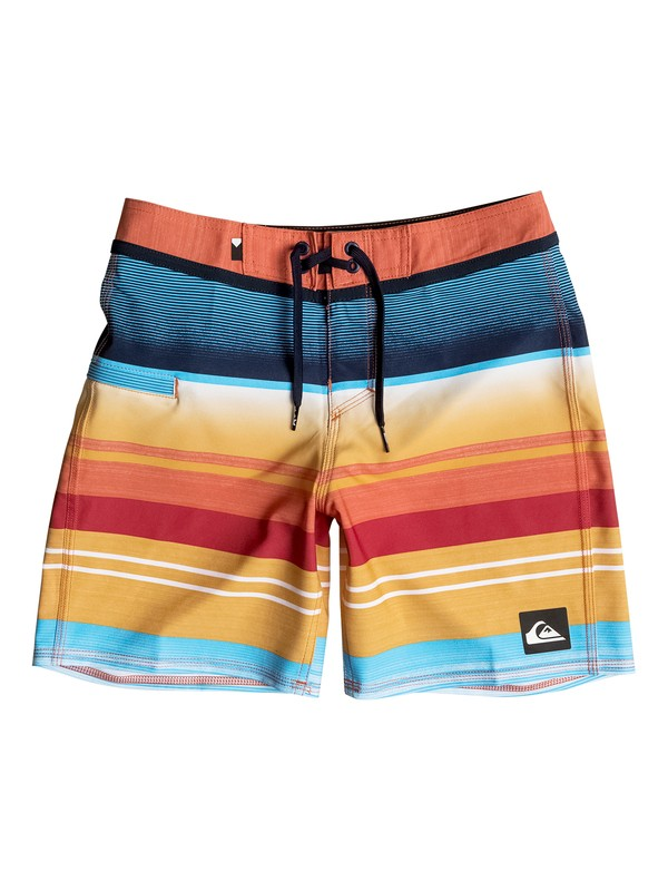 "0 Everyday Stripe Vee 15"" - Boardshort  EQBBS03133 Quiksilver"