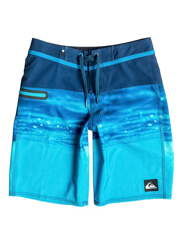 "0 Boy's 8-16 Hold Down Vee 18"" Boardshorts  EQBBS03143 Quiksilver"