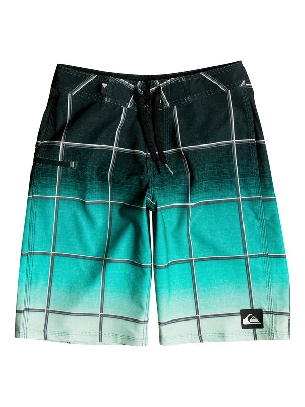 "0 Boy's 8-16 Everyday Electric Vee 19"" Boardshorts  EQBBS03146 Quiksilver"