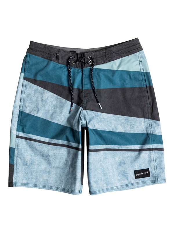 "0 Boy's 8-16 Slash 17"" Beachshorts  EQBBS03158 Quiksilver"