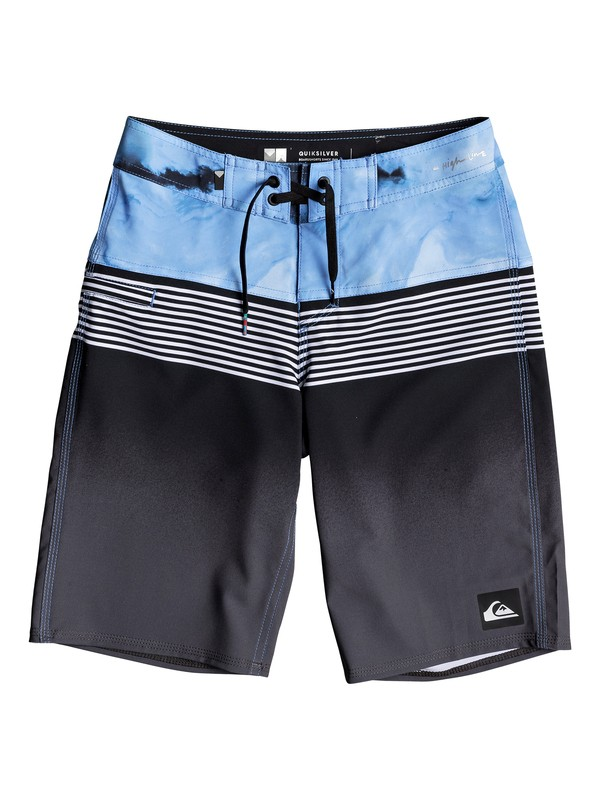 "0 Boys 8-16 Highline Lava Division 19"" - Boardshorts Black EQBBS03232 Quiksilver"