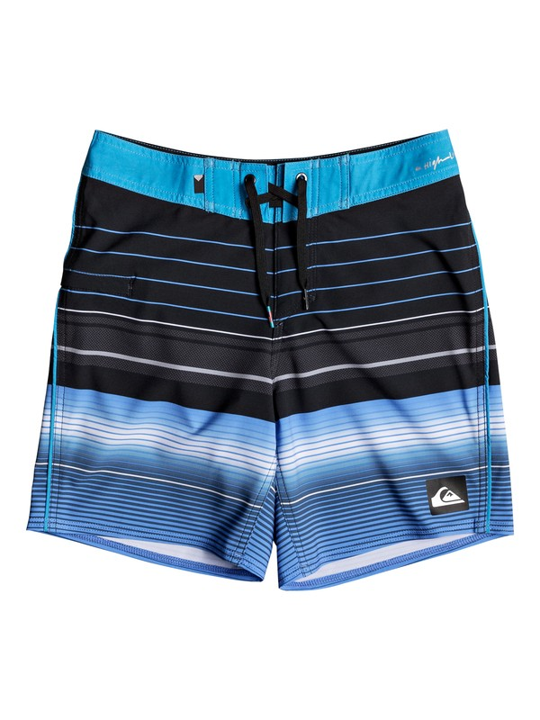 """0 Highline Swell Vision 15"""" - Board Shorts Black EQBBS03238 Quiksilver"""