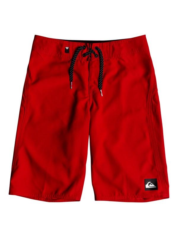 "0 Boys 8 -16 Highline Kaimana 19"" Boardshorts Red EQBBS03242 Quiksilver"