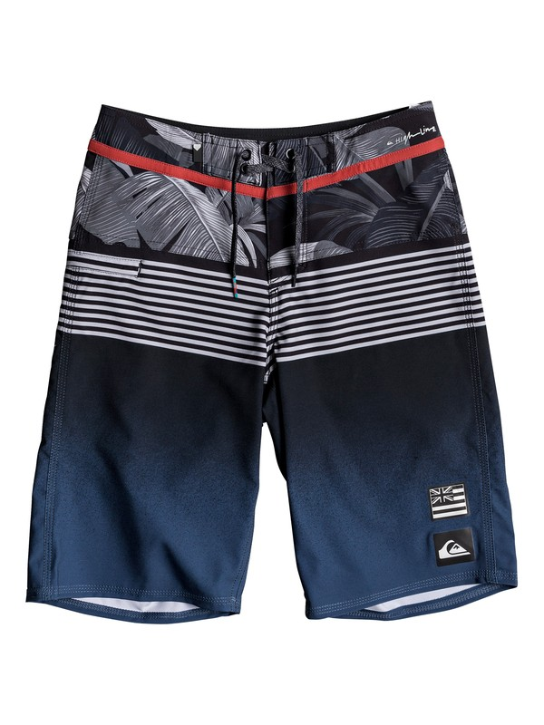 "0 Highline Division Hawaii 19"" - Boardshorts Blue EQBBS03245 Quiksilver"