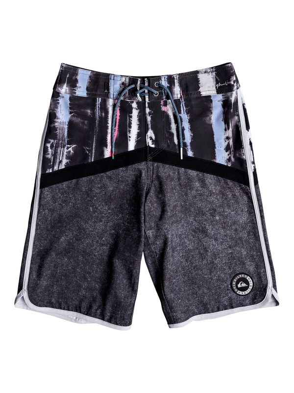 "0 Boys 8-16 Highline Fortune 17"" - Boardshorts Black EQBBS03277 Quiksilver"