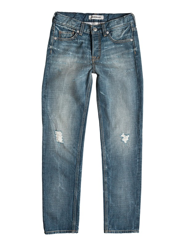 0 Revolver Salty - Straight-Fit Jeans  EQBDP03055 Quiksilver