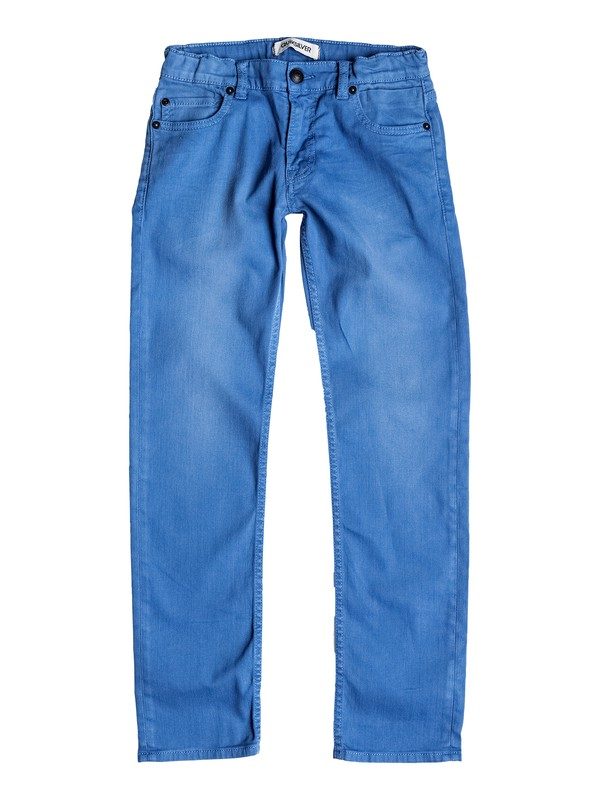 0 Distorsion Colors - Slim Fit Jeans  EQBDP03068 Quiksilver