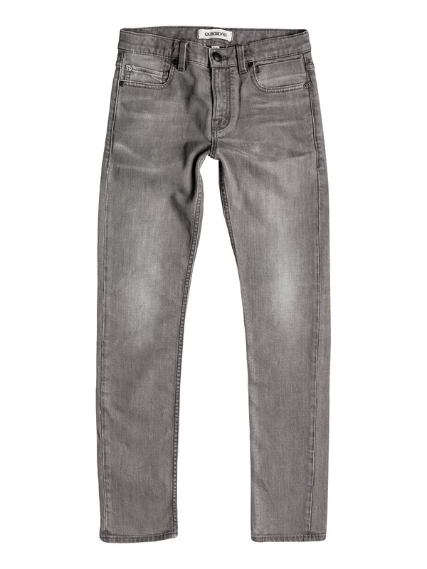 0 Zeppelin Light Grey - Pantaloni aderenti  EQBDP03083 Quiksilver