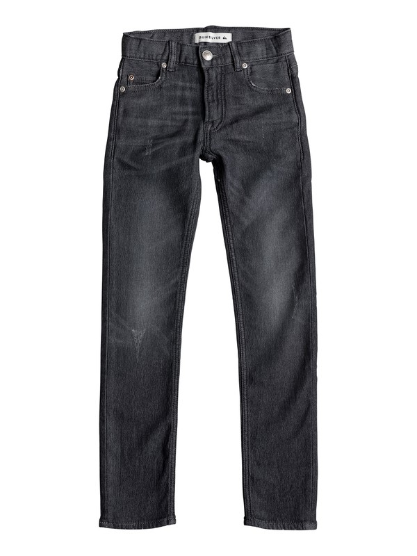 0 Distorsion Grey Damaged - Jean coupe slim  EQBDP03097 Quiksilver