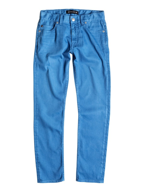0 Distorsion Colors - Jean coupe slim Bleu EQBDP03098 Quiksilver