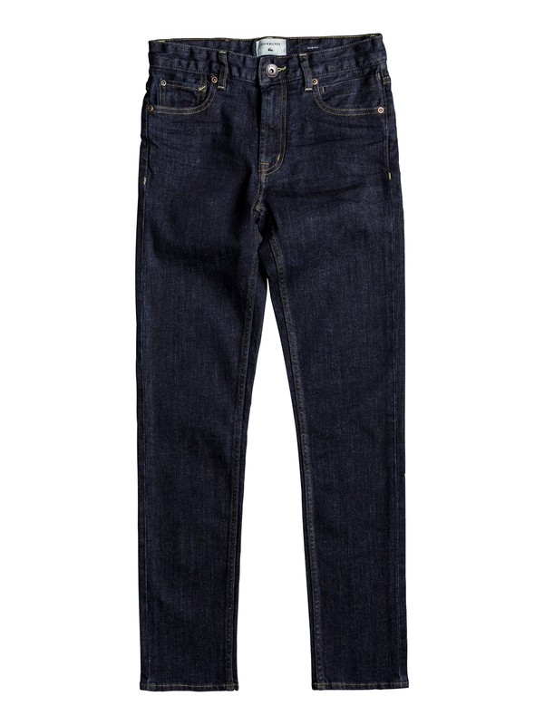 0 Distorsion Rinse - Jean slim Bleu EQBDP03134 Quiksilver