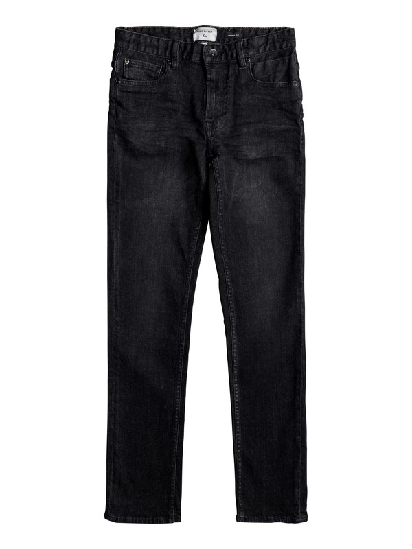 0 Killing Zone - Skinny Fit Jeans Black EQBDP03136 Quiksilver