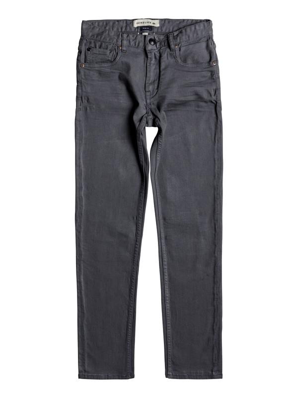 0 Distorsion Colors - Jeans vestibilità slim Blue EQBDP03137 Quiksilver