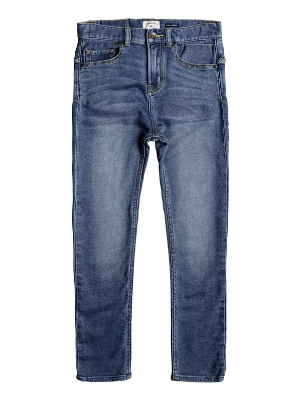 0 Low Bridge Buggy Blue - Skinny Fit Jeans  EQBDP03139 Quiksilver