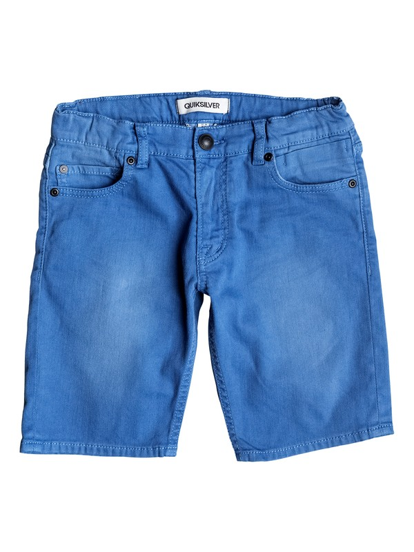 0 Distorsion Colors - Bermuda in denim  EQBDS03025 Quiksilver