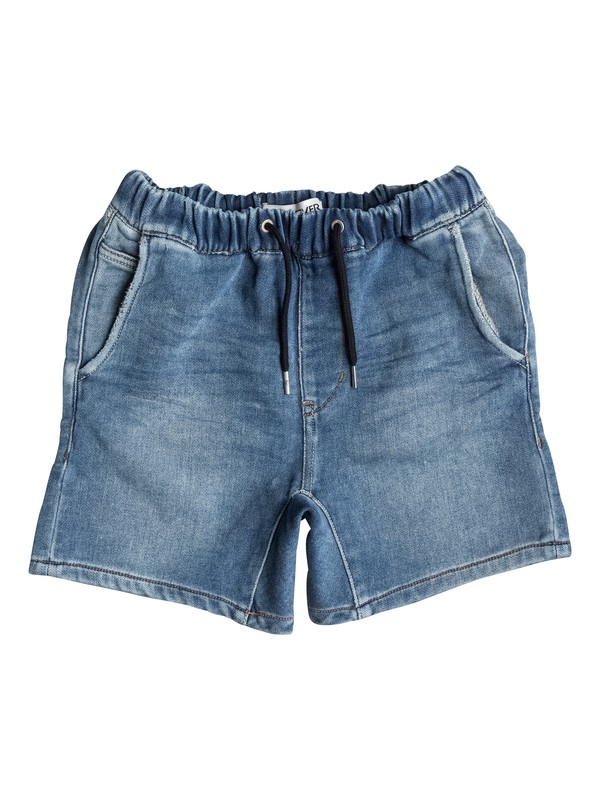 0 Fonic Denim Fleece - Denim-Shorts  EQBDS03027 Quiksilver