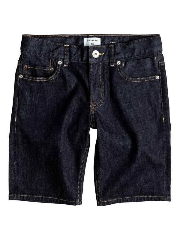 0 Distorsion Rinse - Denim Shorts Blue EQBDS03044 Quiksilver