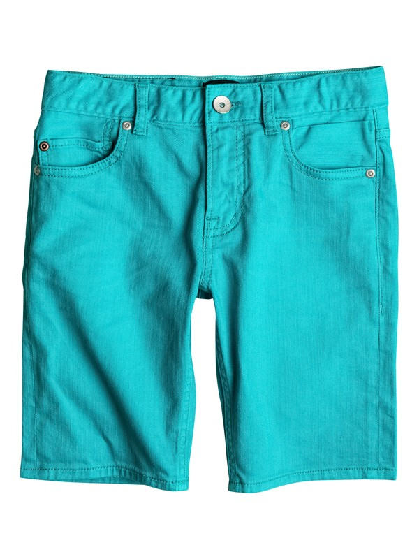 0 Distorsion Colors - Short en denim Bleu EQBDS03047 Quiksilver