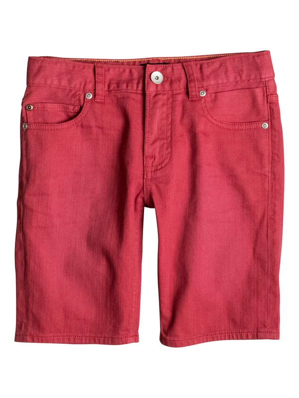 0 Distorsion Colors - Bermuda in denim Red EQBDS03047 Quiksilver