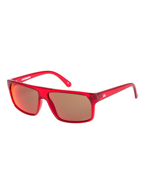 0 Moonchild - Sonnenbrille für Jungen Rot EQBEY03002 Quiksilver