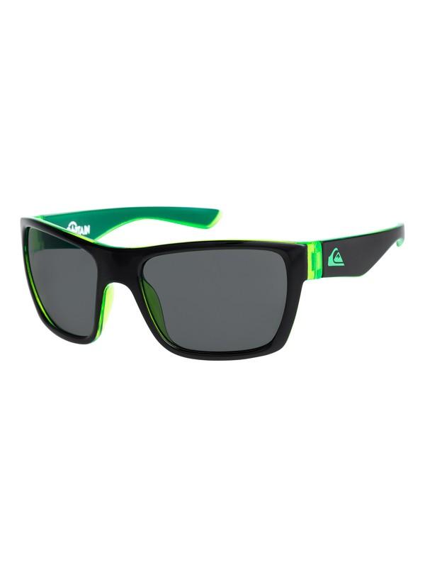 0 Captain - Sunglasses Black EQBEY03003 Quiksilver