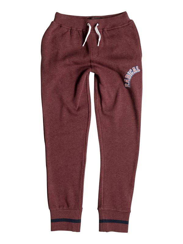 0 Radical Surfing - Tracksuit Bottoms Red EQBFB03027 Quiksilver