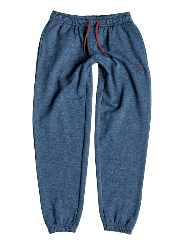 0 Everyday - Pantalon en Molleton Bleu EQBFB03031 Quiksilver