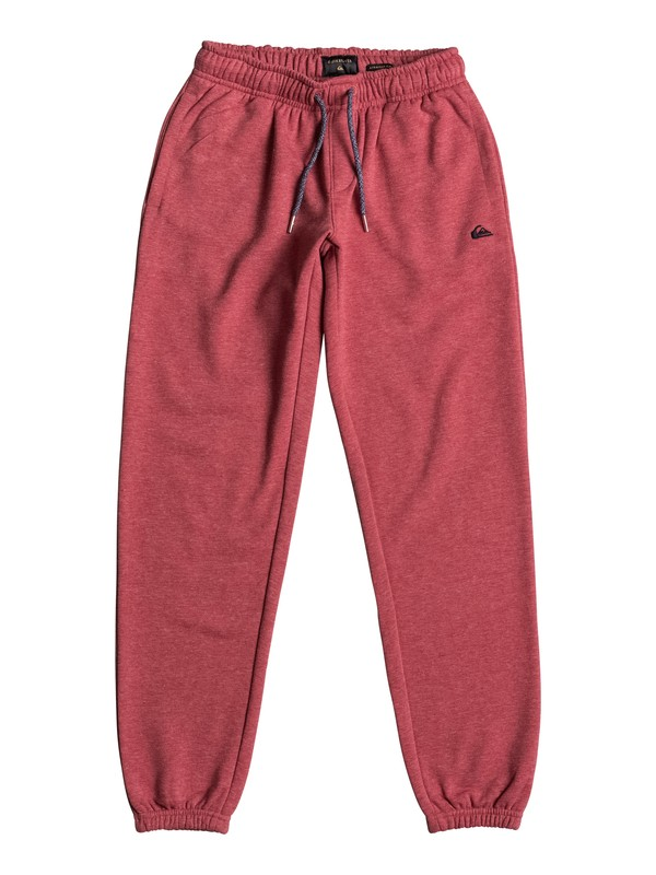 0 Everyday - Tracksuit Bottoms Red EQBFB03042 Quiksilver