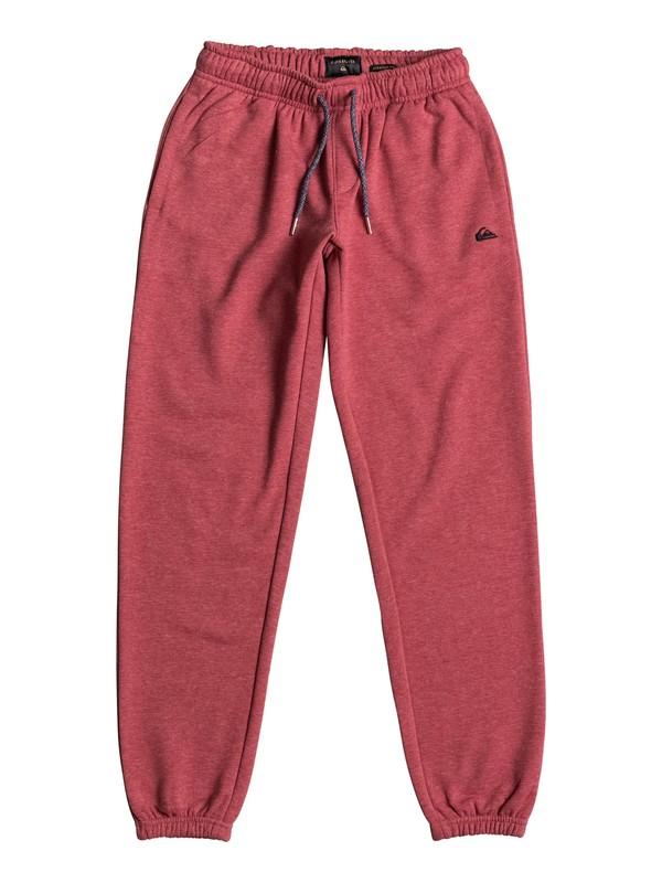 0 Everyday - Pantalon de jogging Rouge EQBFB03042 Quiksilver