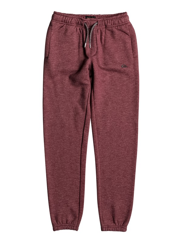 0 Everyday - Tracksuit Bottoms Red EQBFB03055 Quiksilver