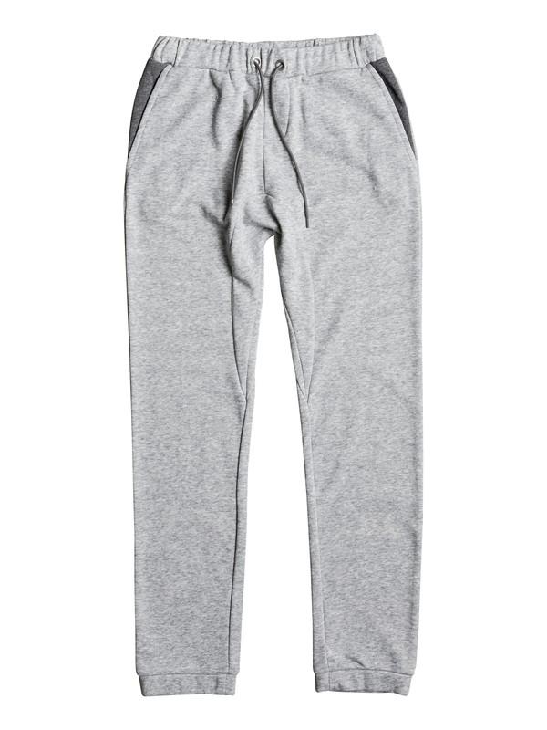 0 Fonic Fleece - Joggers Grey EQBFB03057 Quiksilver