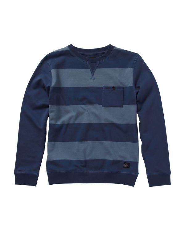0 Boys 8-16 Custer Sweatshirt  EQBFT00025 Quiksilver