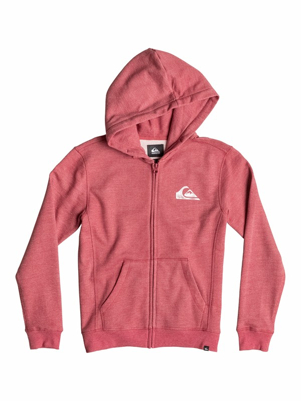 0 Everyday Heather Zip - Zip Zip-Up Hoodie  EQBFT03109 Quiksilver