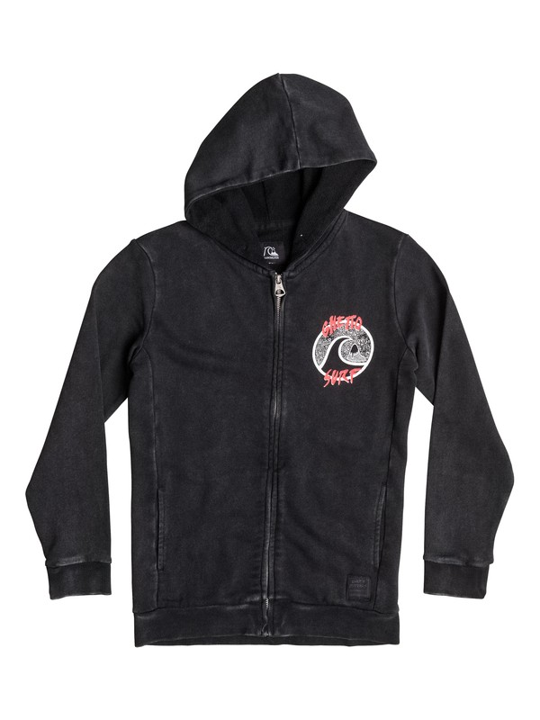 0 Ghetto Surf - Sweat à capuche zippé  EQBFT03150 Quiksilver