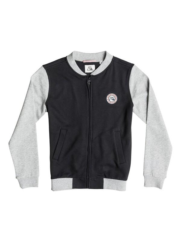 0 Legacy Temple - Sweatshirt zippé Noir EQBFT03158 Quiksilver